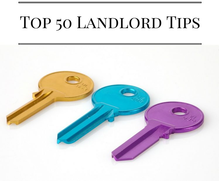 Top 50 Landlord Tips