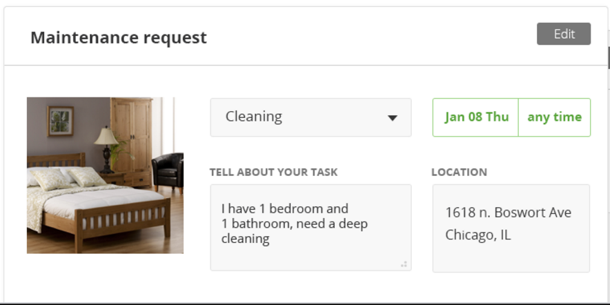 Tenant Maintenance Request