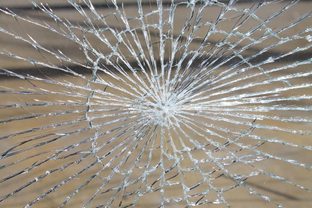 Broken Rental Property Window