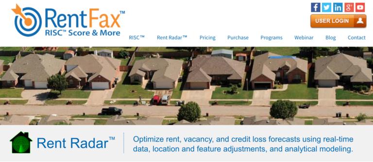 RentFax Rent Radar Description