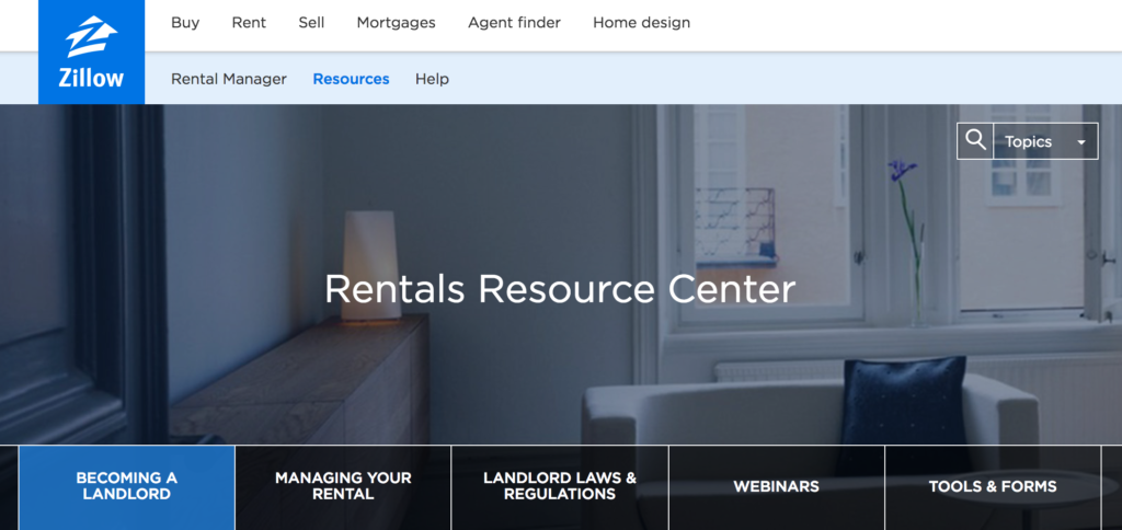 Zillow Rental Manager Resources