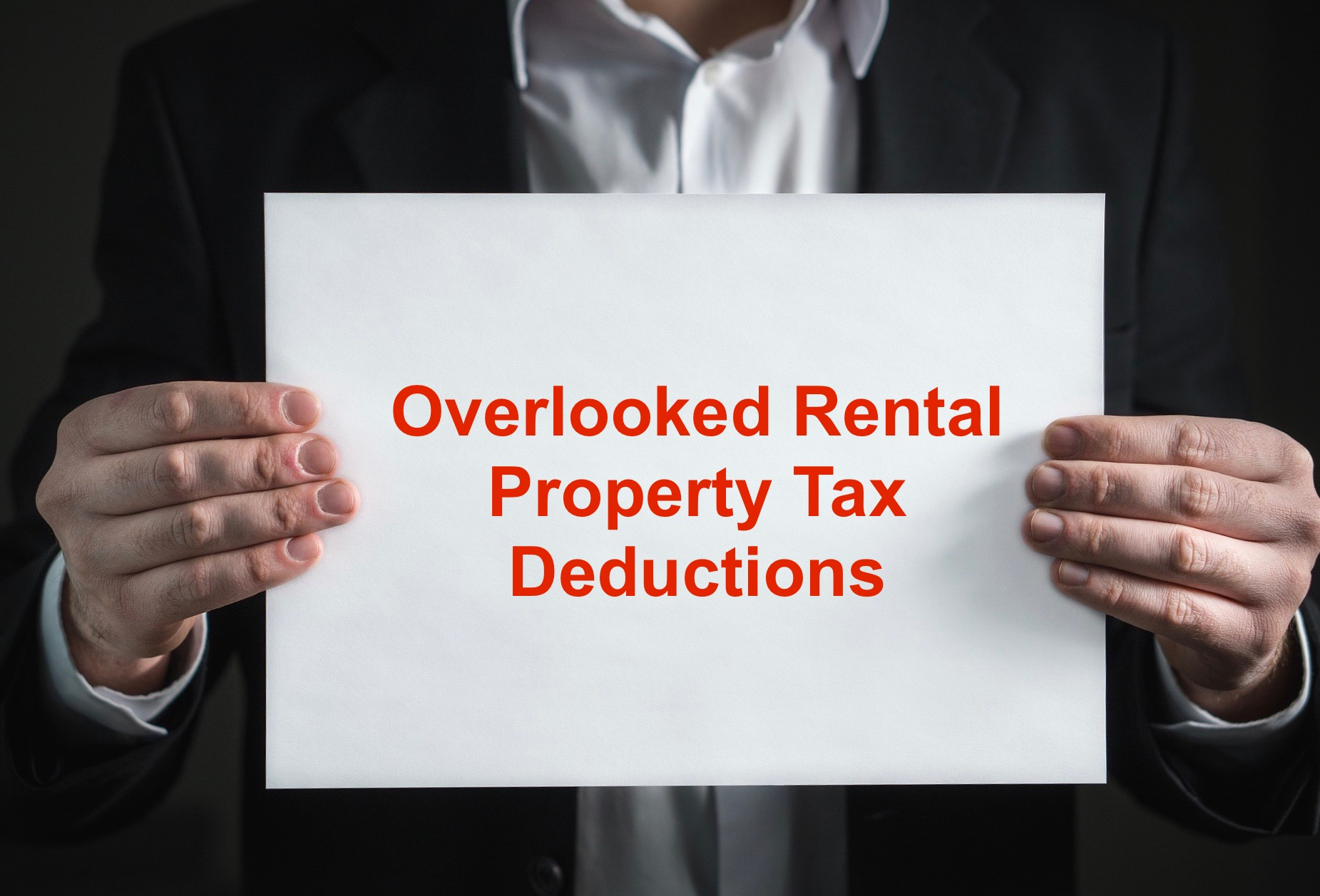 Overlooked Rental Property Tax Deductions