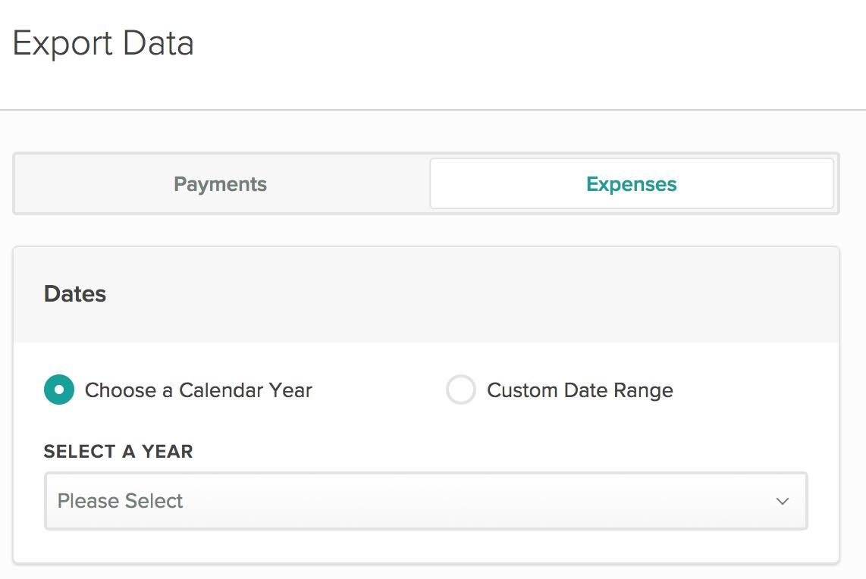 Cozy Data Export Screen