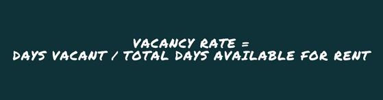 Vacancy Rate Formula
