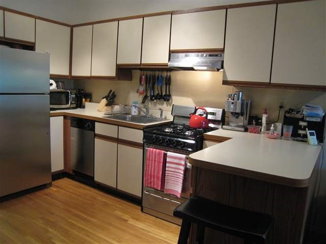 Rental Property Kitchen Before Renovation
