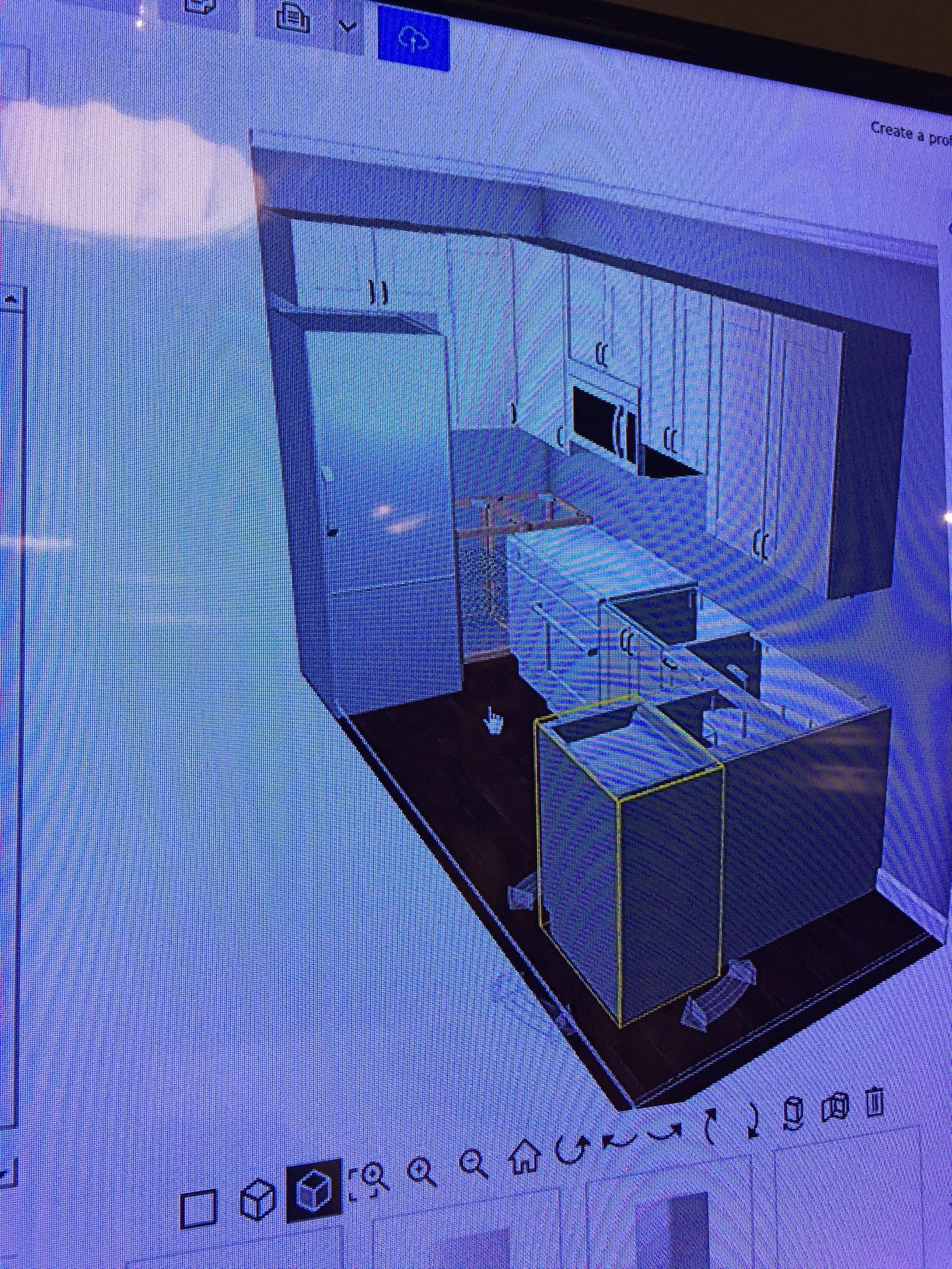 IKEA Cabinets Computer Design