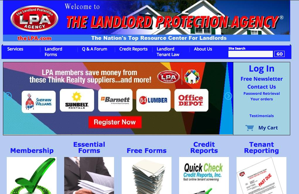 Best Online Landlord Forms Services Comparison Chart