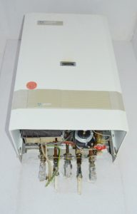 Tankless Hot Water Heater From Below
