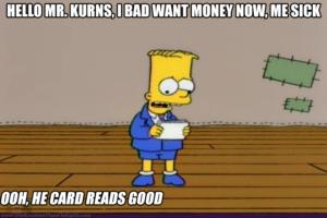 He Card Read Good