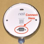 Nest thermostat connection