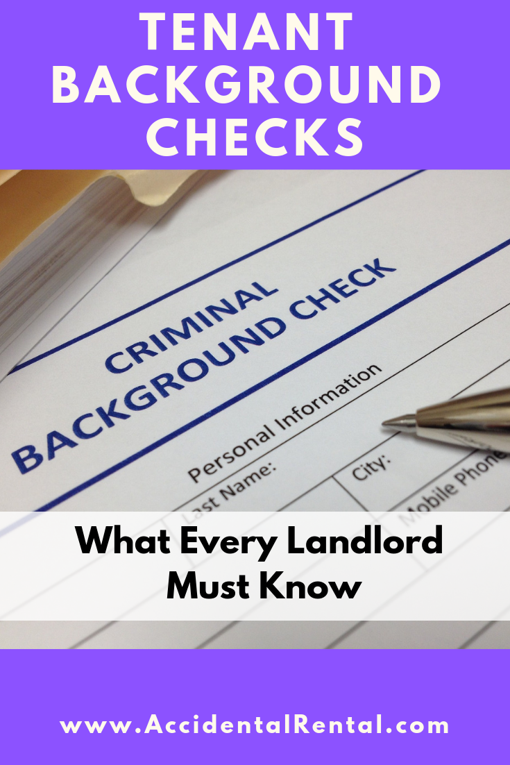 Tenant Background Checks (What Every Landlord Must Know)